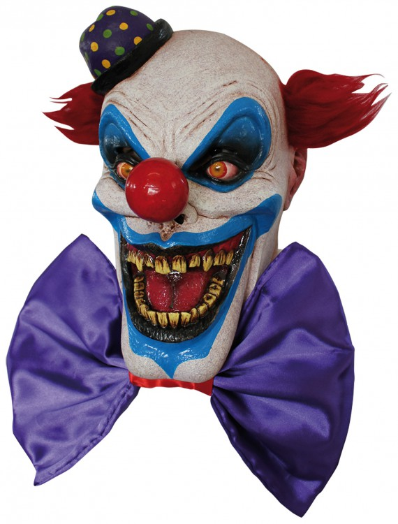 Scary Chompo the Clown Mask, halloween costume (Scary Chompo the Clown Mask)