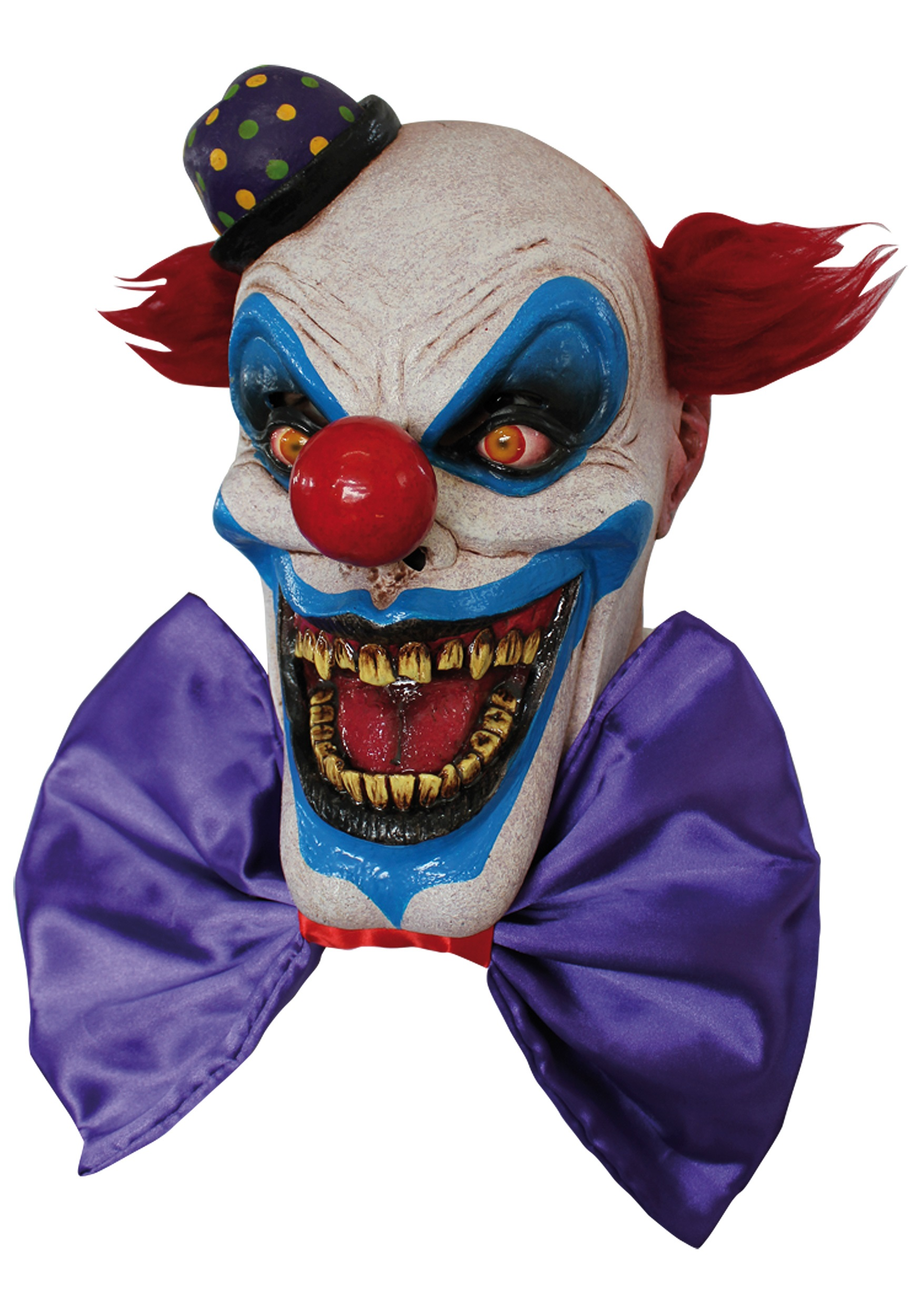 Scary Chompo the Clown Mask - Halloween Costumes