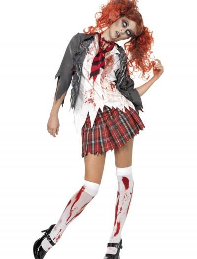 School Girl Zombie Costume, halloween costume (School Girl Zombie Costume)