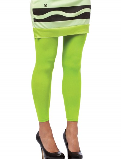 Screamin' Green Crayon Leggings, halloween costume (Screamin' Green Crayon Leggings)
