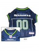 Seattle Seahawks Dog Mesh Jersey, halloween costume (Seattle Seahawks Dog Mesh Jersey)