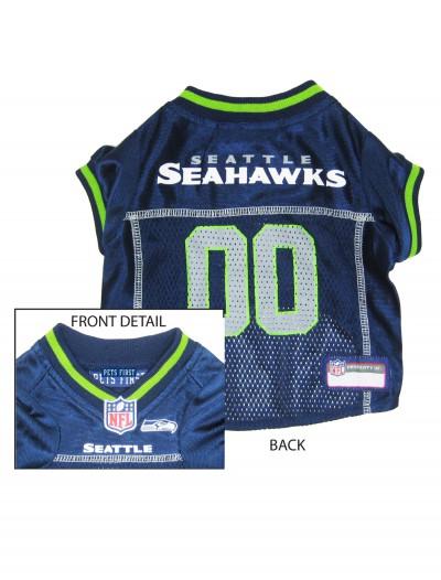 Seattle Seahawks Dog Mesh Jersey, halloween costume (Seattle Seahawks Dog Mesh Jersey)