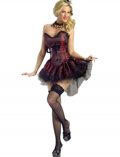 Seductive Saloon Girl Costume, halloween costume (Seductive Saloon Girl Costume)