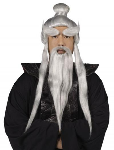 Sensei Wig and Beard Set, halloween costume (Sensei Wig and Beard Set)