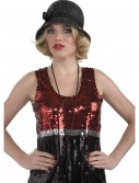 Sequin Flapper Hat, halloween costume (Sequin Flapper Hat)
