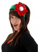 Sequin Poinsettia Headband, halloween costume (Sequin Poinsettia Headband)
