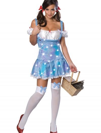 Sequin Sexy Dorothy Costume, halloween costume (Sequin Sexy Dorothy Costume)