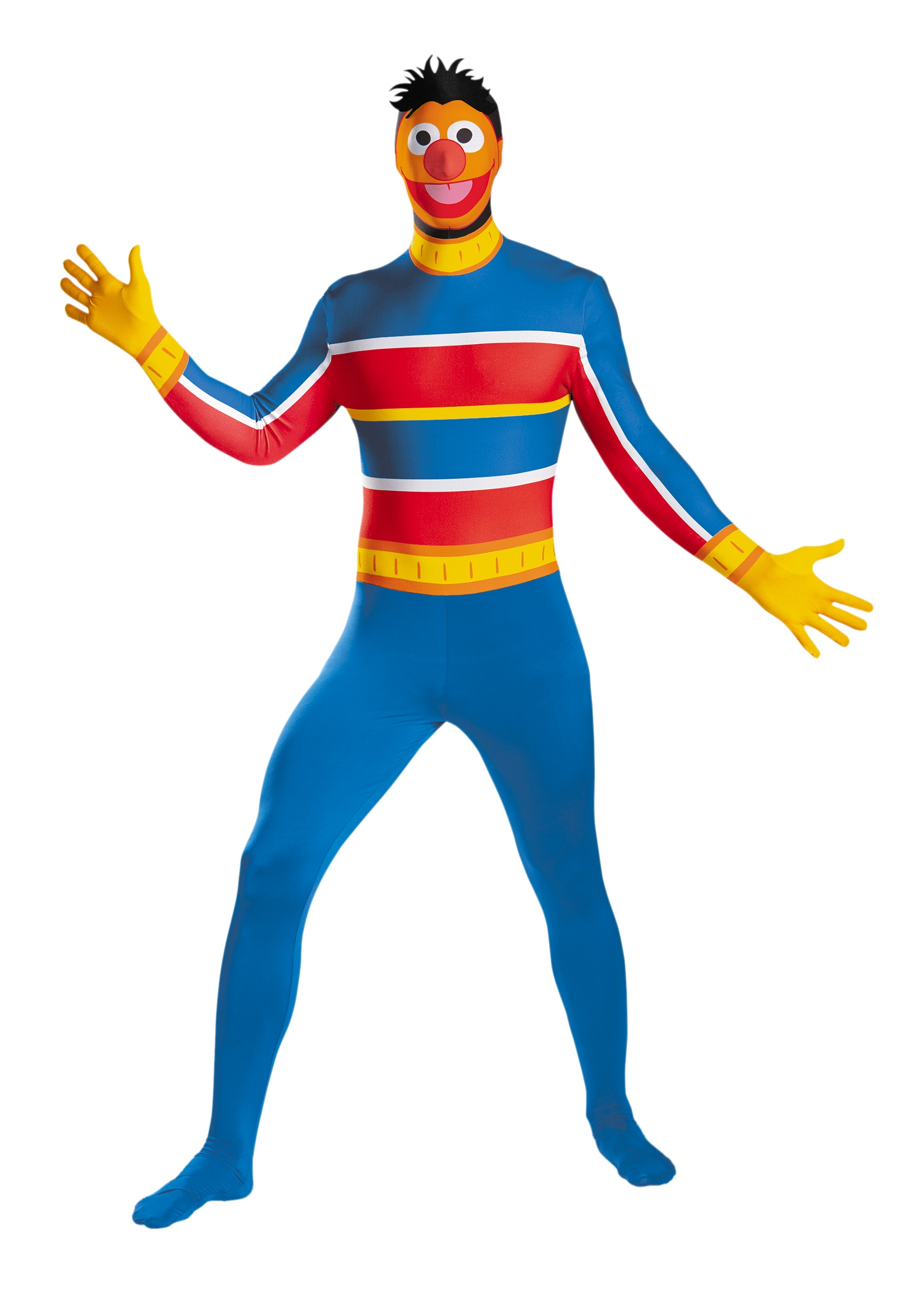 sesame street adult ernie skin suit