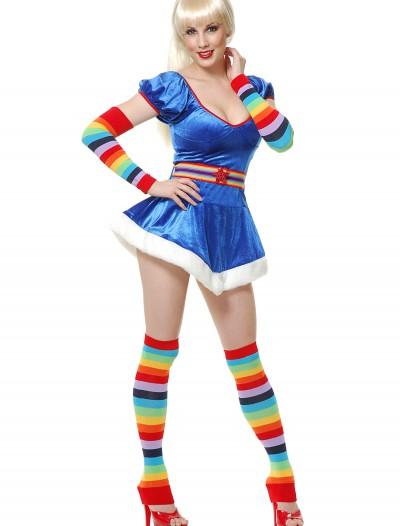 Sexy 80s Rainbow Vixen Costume, halloween costume (Sexy 80s Rainbow Vixen Costume)