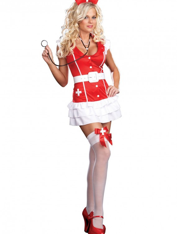 Sexy Adult Nurse Costume, halloween costume (Sexy Adult Nurse Costume)