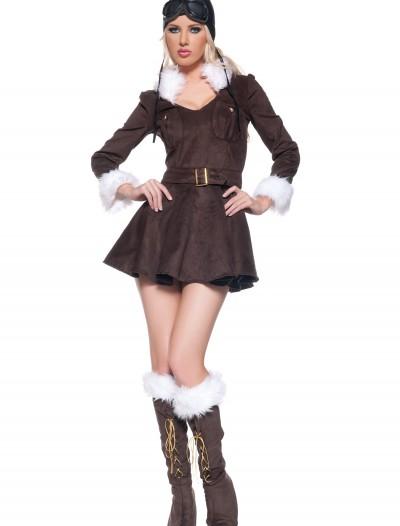 Sexy Amelia Earhart Costume, halloween costume (Sexy Amelia Earhart Costume)