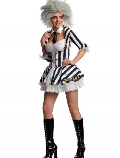 Sexy Beetlejuice Costume, halloween costume (Sexy Beetlejuice Costume)