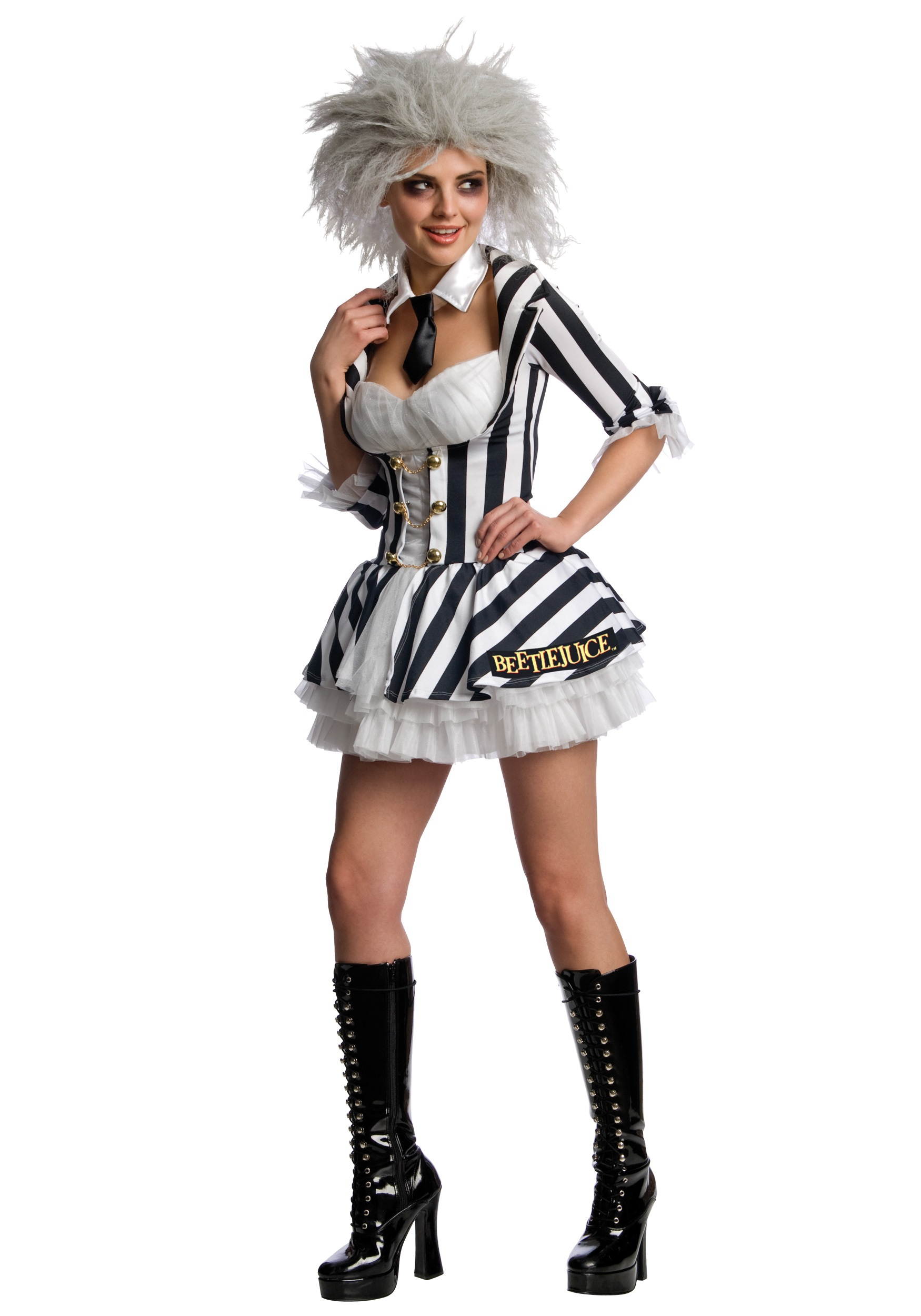 Sexy Beetlejuice Costume - Halloween Costumes