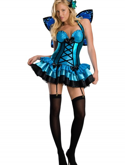 Sexy Blue Fairy Costume, halloween costume (Sexy Blue Fairy Costume)