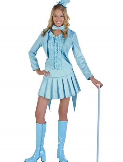 Sexy Blue Tuxedo Costume, halloween costume (Sexy Blue Tuxedo Costume)
