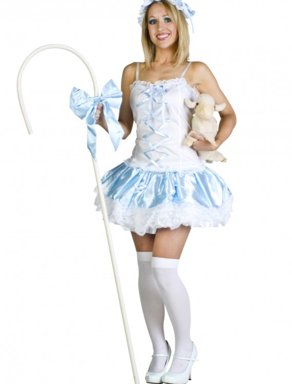Sexy Bo Peep Costume, halloween costume (Sexy Bo Peep Costume)