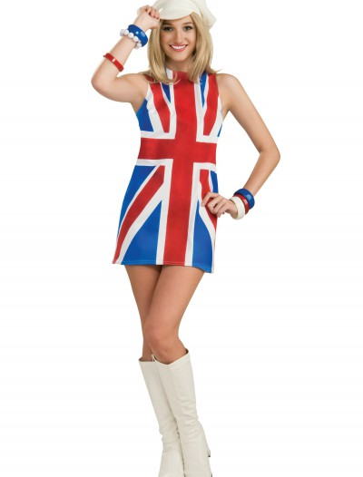 Sexy British Invasion Costume, halloween costume (Sexy British Invasion Costume)