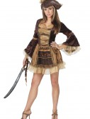 Sexy Brown Pirate Costume, halloween costume (Sexy Brown Pirate Costume)