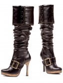 Sexy Buckle Pirate Boots, halloween costume (Sexy Buckle Pirate Boots)
