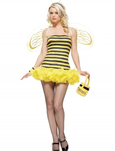 Sexy Bumble Bee Costume, halloween costume (Sexy Bumble Bee Costume)