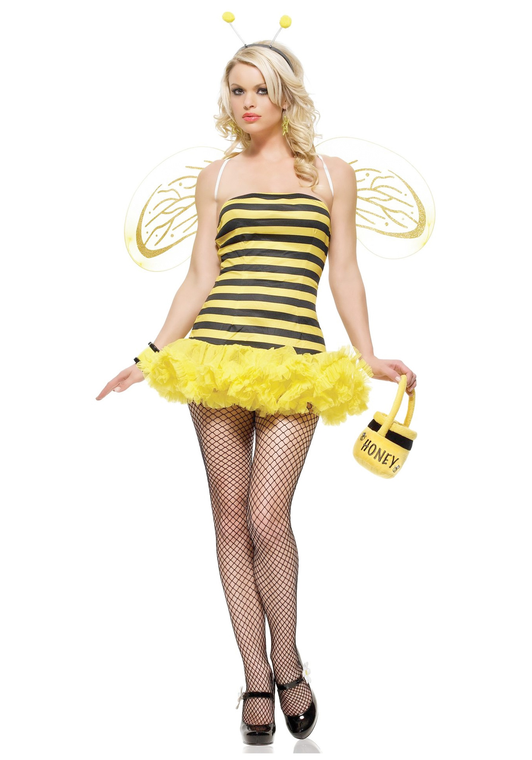 Sexy Bumble Bee Costume  sc 1 st  Halloween Costumes & Sexy Bumble Bee Costume - Halloween Costumes