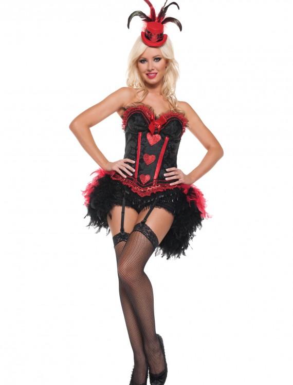 Sexy Cabaret Showgirl Costume, halloween costume (Sexy Cabaret Showgirl Costume)
