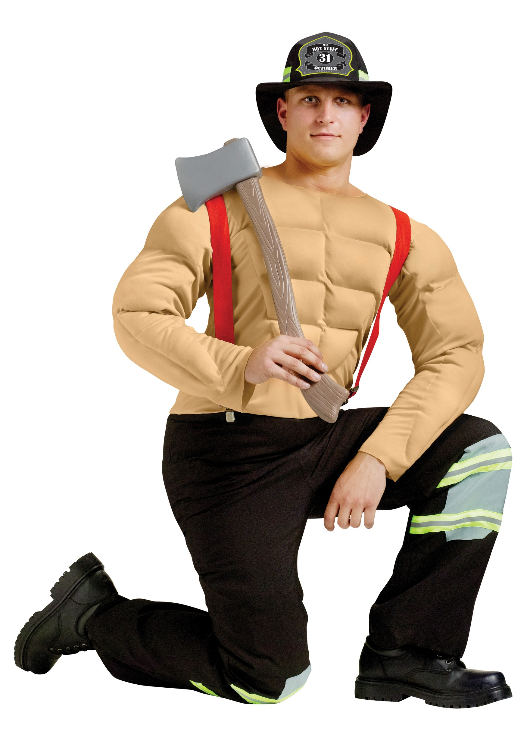 Sexy fireman costume for men