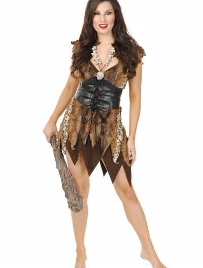 Sexy Cave Woman Costume, halloween costume (Sexy Cave Woman Costume)