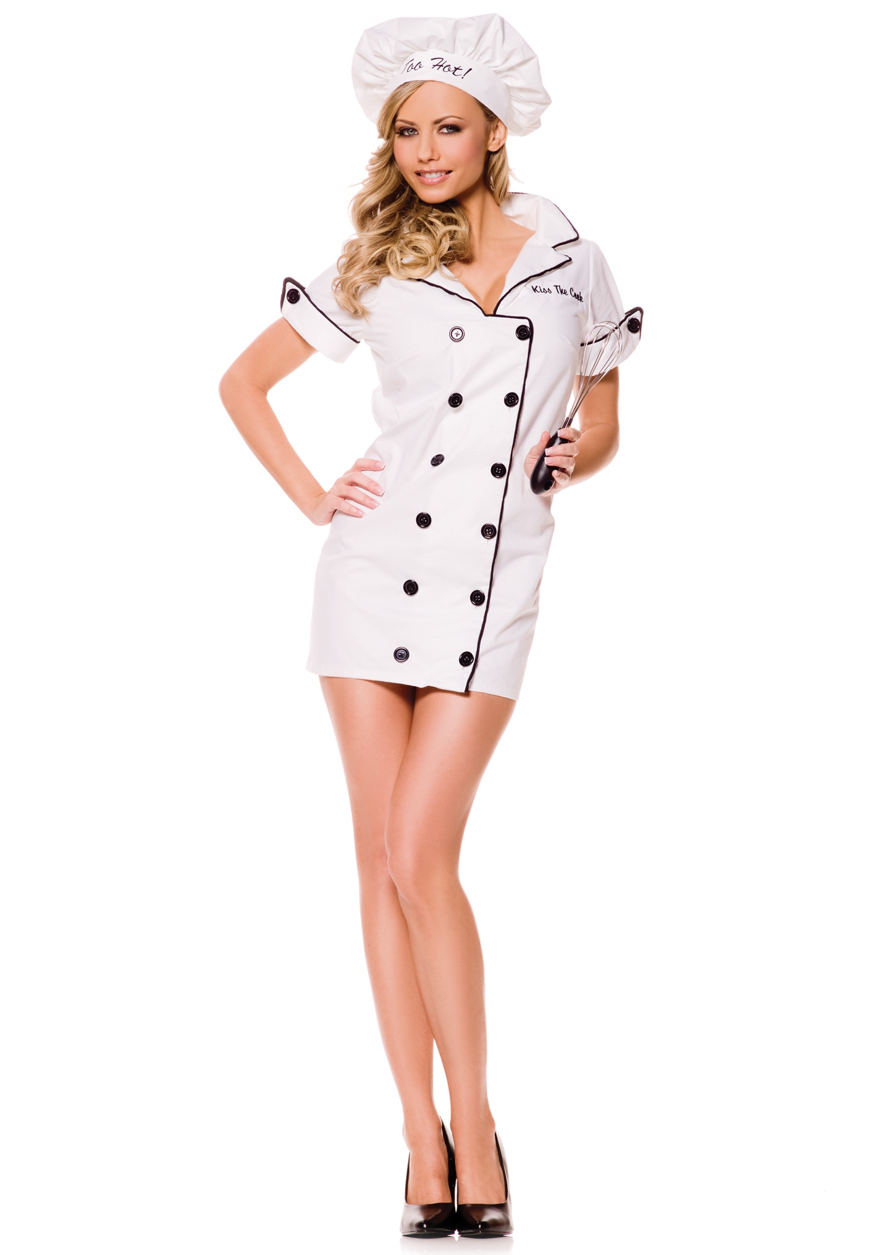 Sexy Chef Costume  sc 1 st  Halloween Costumes : chef halloween costumes  - Germanpascual.Com