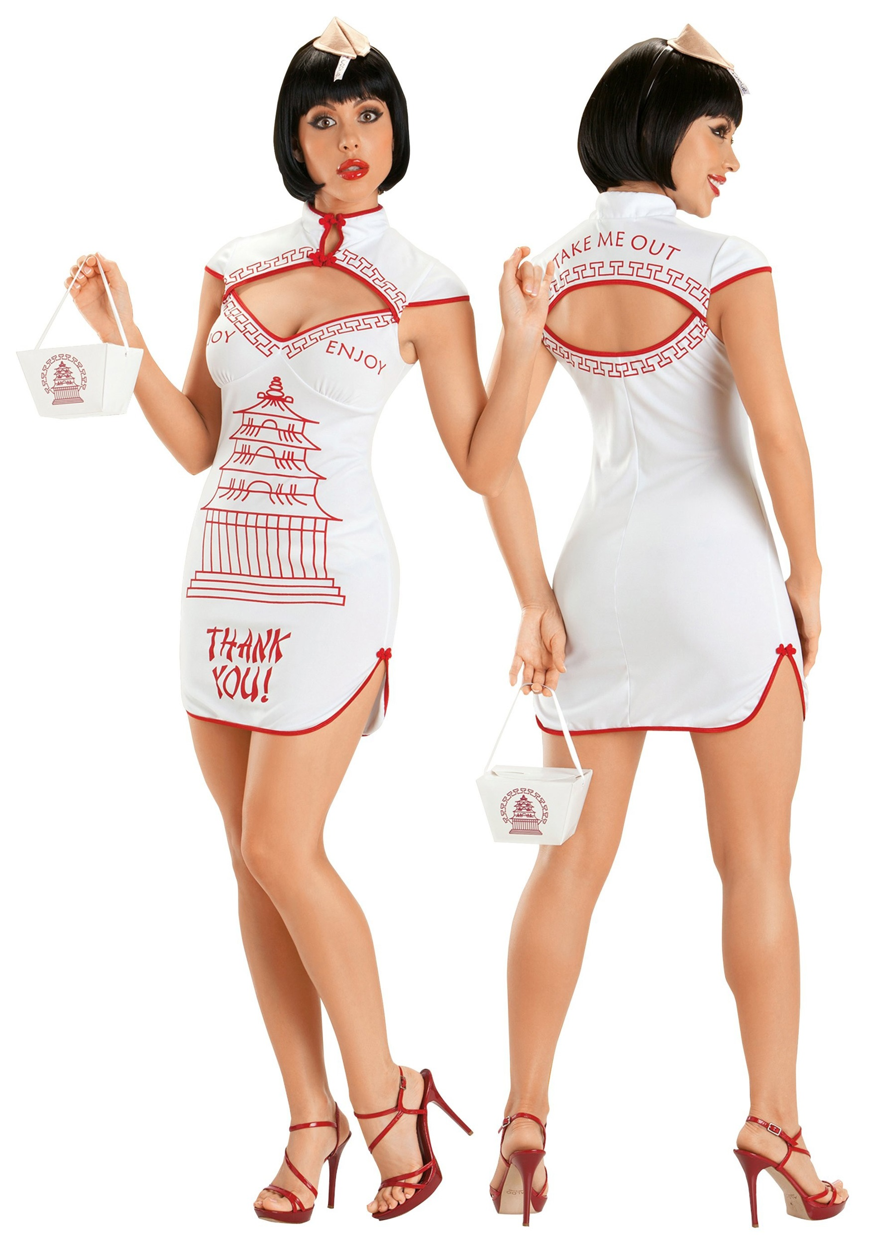 Sexy Chinese Takeout Costume