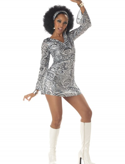 Sexy Disco Diva Dress, halloween costume (Sexy Disco Diva Dress)