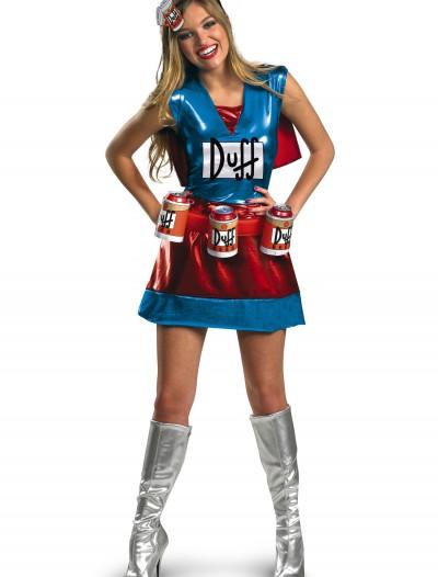 Sexy Duffwoman Costume, halloween costume (Sexy Duffwoman Costume)