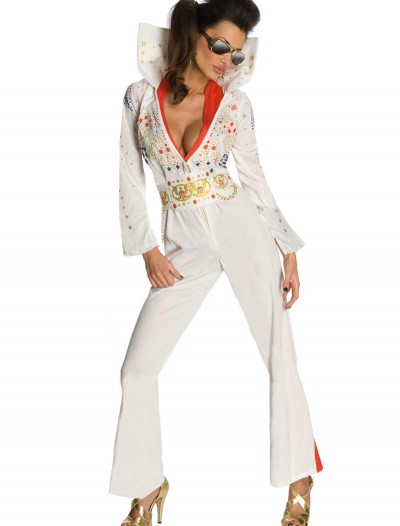 Sexy Elvis Jumpsuit Costume, halloween costume (Sexy Elvis Jumpsuit Costume)