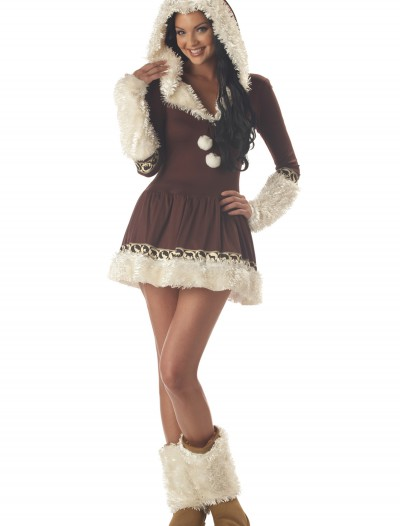 Sexy Eskimo Kisses Costume, halloween costume (Sexy Eskimo Kisses Costume)