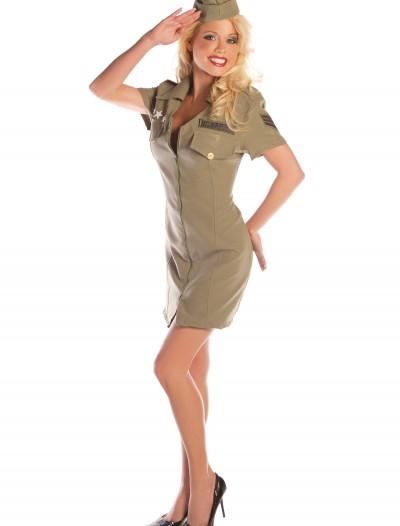 Sexy Fly Girl Military Costume, halloween costume (Sexy Fly Girl Military Costume)