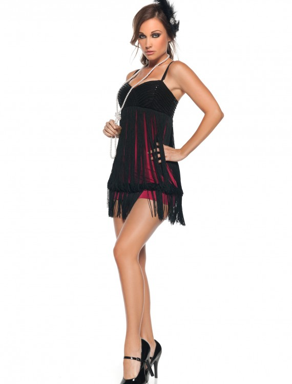 Sexy Fringe Flapper Costume, halloween costume (Sexy Fringe Flapper Costume)