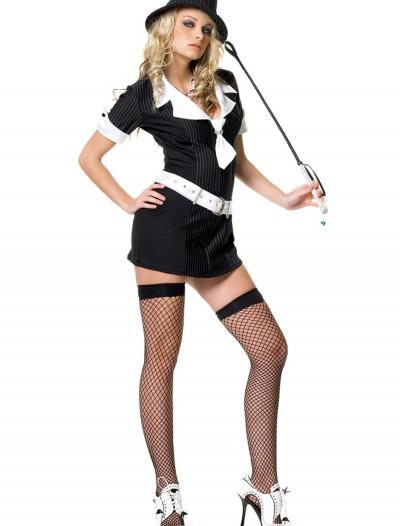 Sexy Gangster Moll Dress, halloween costume (Sexy Gangster Moll Dress)