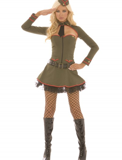 Sexy General Booty Costume, halloween costume (Sexy General Booty Costume)