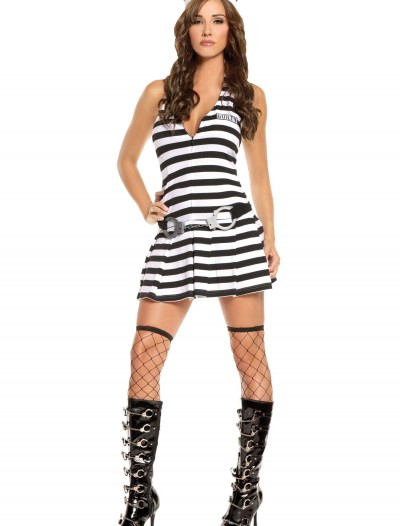Sexy Guilty Inmate Costume, halloween costume (Sexy Guilty Inmate Costume)