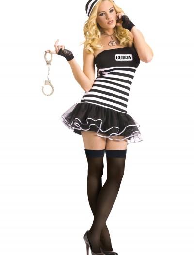 Sexy Guilty Prisoner Costume, halloween costume (Sexy Guilty Prisoner Costume)
