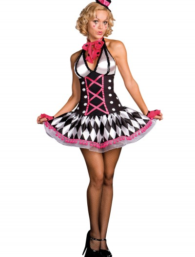 Sexy Harlequin Clown Costume, halloween costume (Sexy Harlequin Clown Costume)
