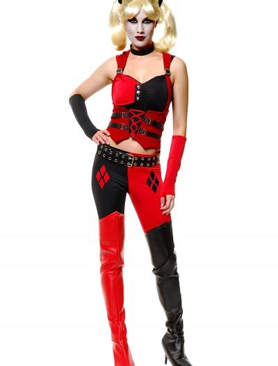 Sexy Harlequin Joker Costume, halloween costume (Sexy Harlequin Joker Costume)