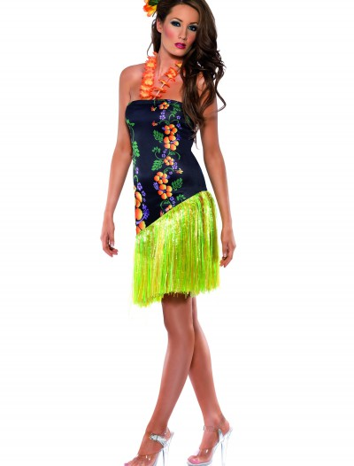 Sexy Hawaiian Luau Costume, halloween costume (Sexy Hawaiian Luau Costume)