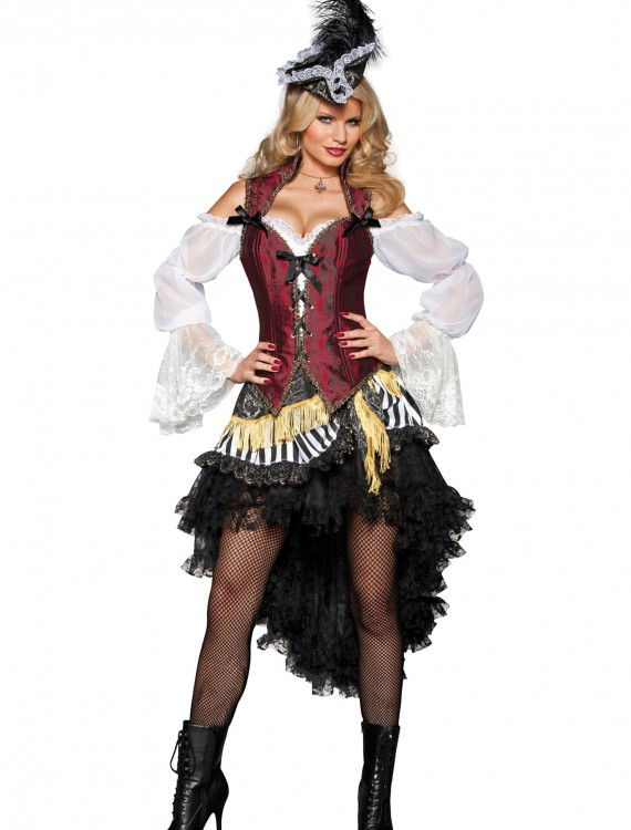 Sexy High Seas Pirate Costume, halloween costume (Sexy High Seas Pirate Costume)