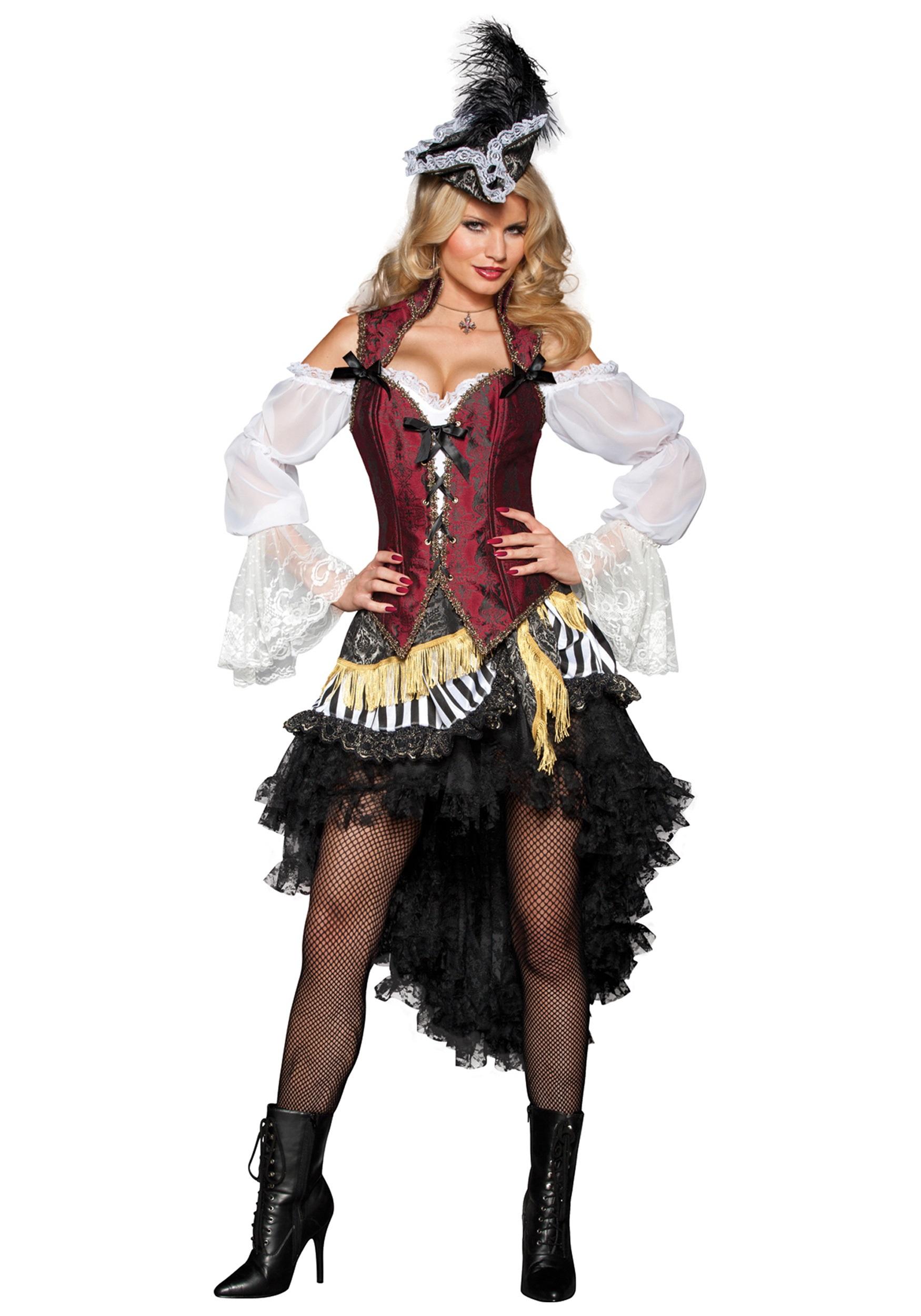 Sexy High Seas Pirate Costume  sc 1 st  Halloween Costumes & Sexy High Seas Pirate Costume - Halloween Costumes