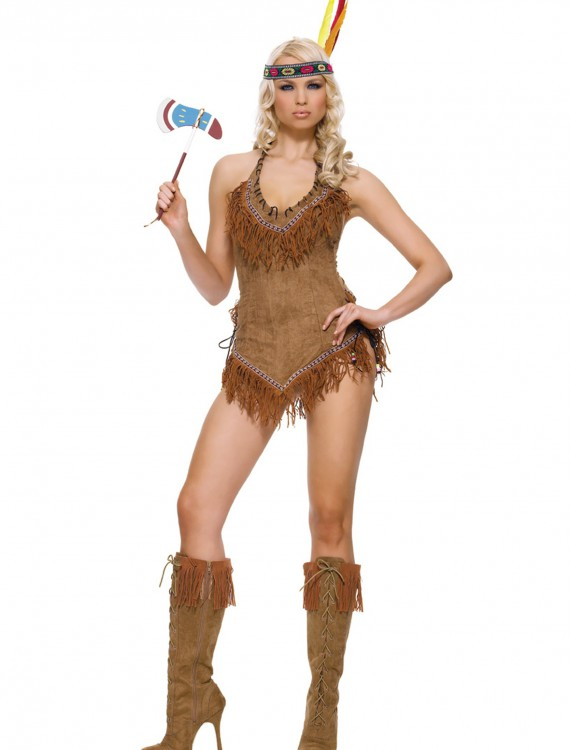 Sexy Indian Girl Costume, halloween costume (Sexy Indian Girl Costume)