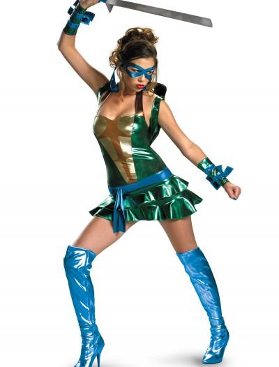 Sexy Leonardo Ninja Turtle Costume, halloween costume (Sexy Leonardo Ninja Turtle Costume)