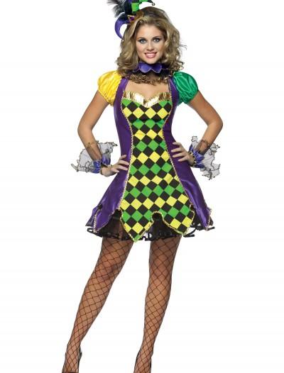 Sexy Mardi Gras Jester Costume, halloween costume (Sexy Mardi Gras Jester Costume)