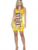 Sexy M&M Peanut Dress Costume, halloween costume (Sexy M&M Peanut Dress Costume)