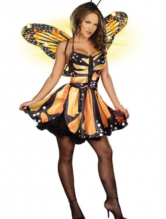 Sexy Monarch Fairy Costume, halloween costume (Sexy Monarch Fairy Costume)